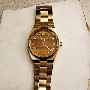 Rose Gold Tone Michael Kors Watch